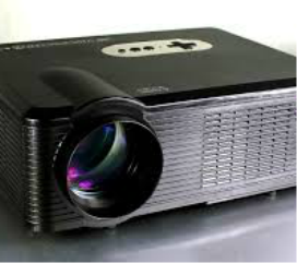 LCD projector by Rockin Robin Djs