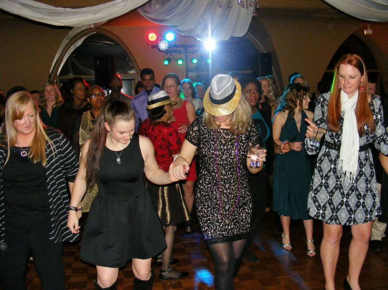 Corporate Event Dancing to Rockin' Robin Djs