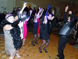 Themed Rockin' Robin Corporate Party